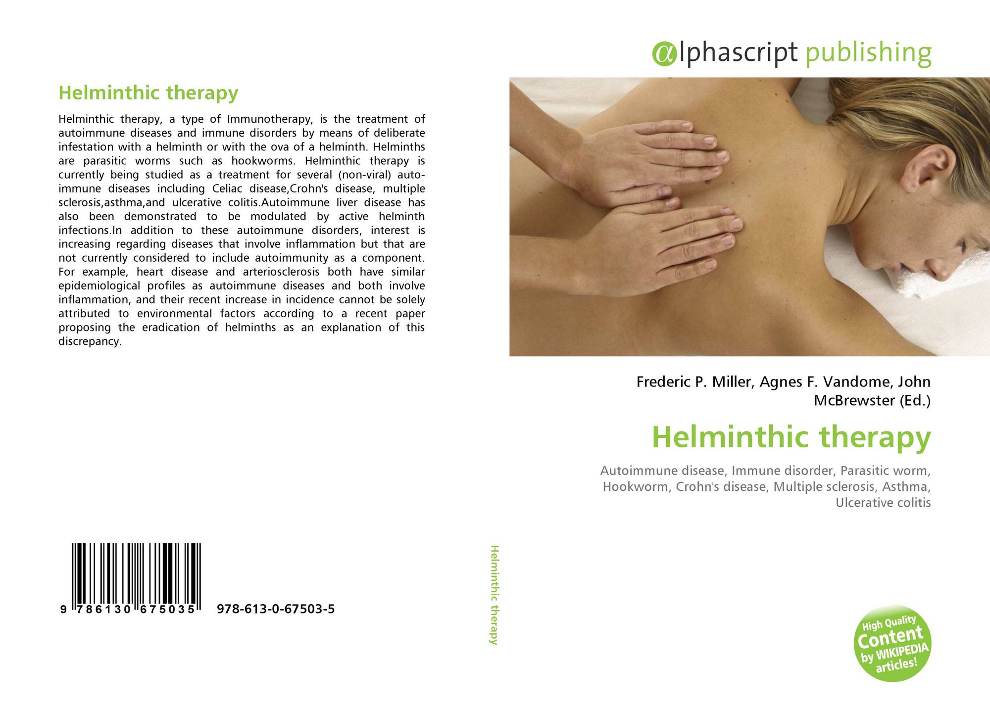 helminth therapy and skin