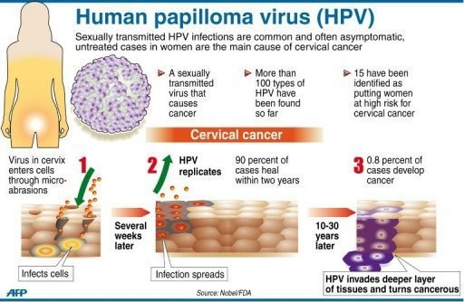 hpv and cure screening papilloma virus positivo