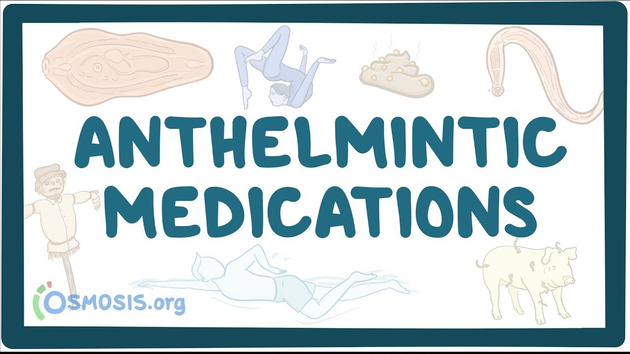 anthelmintic pharmacology definition