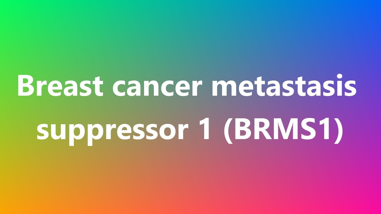 metastatic cancer how to pronounce