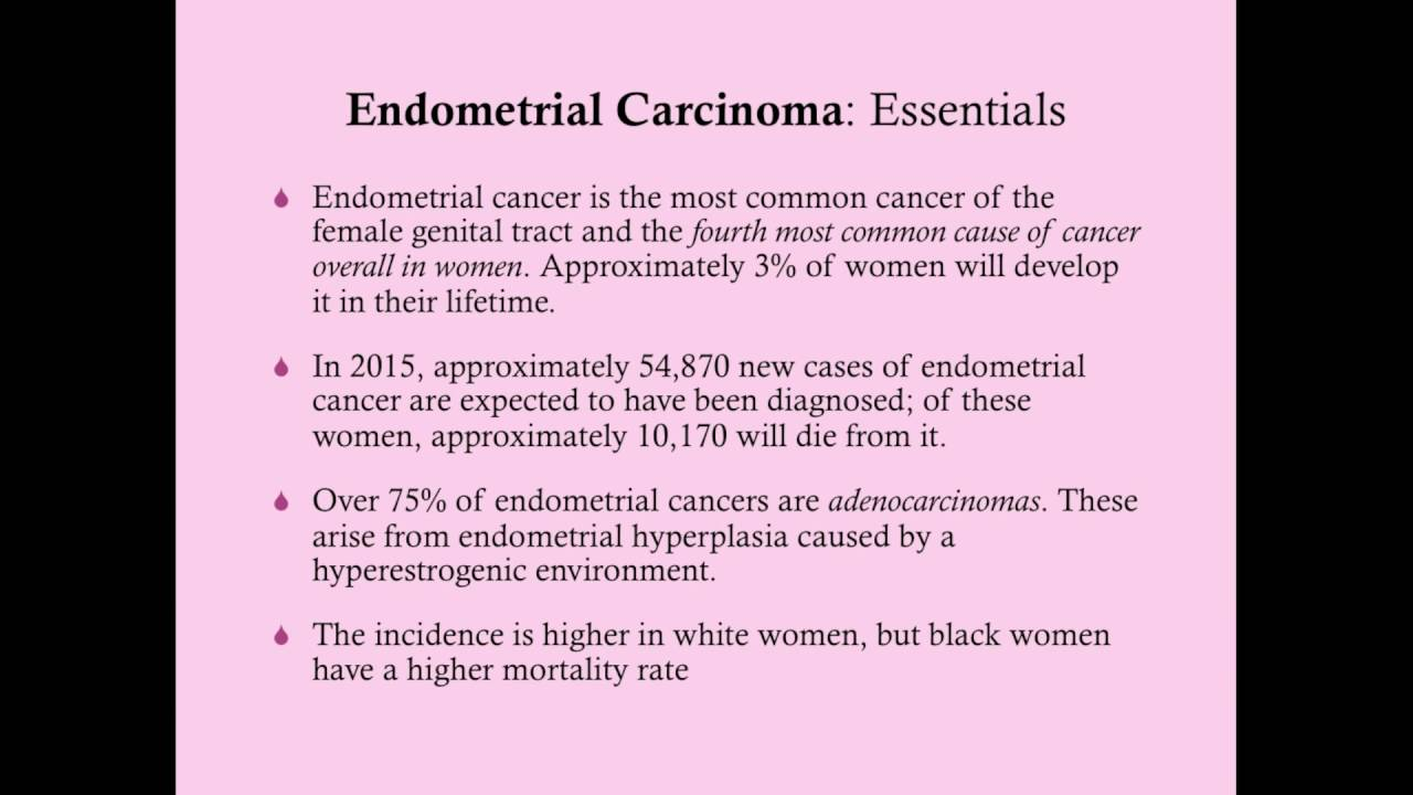 endometrial cancer rcog guidelines