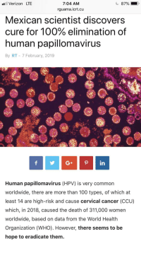 papilloma virus cancro