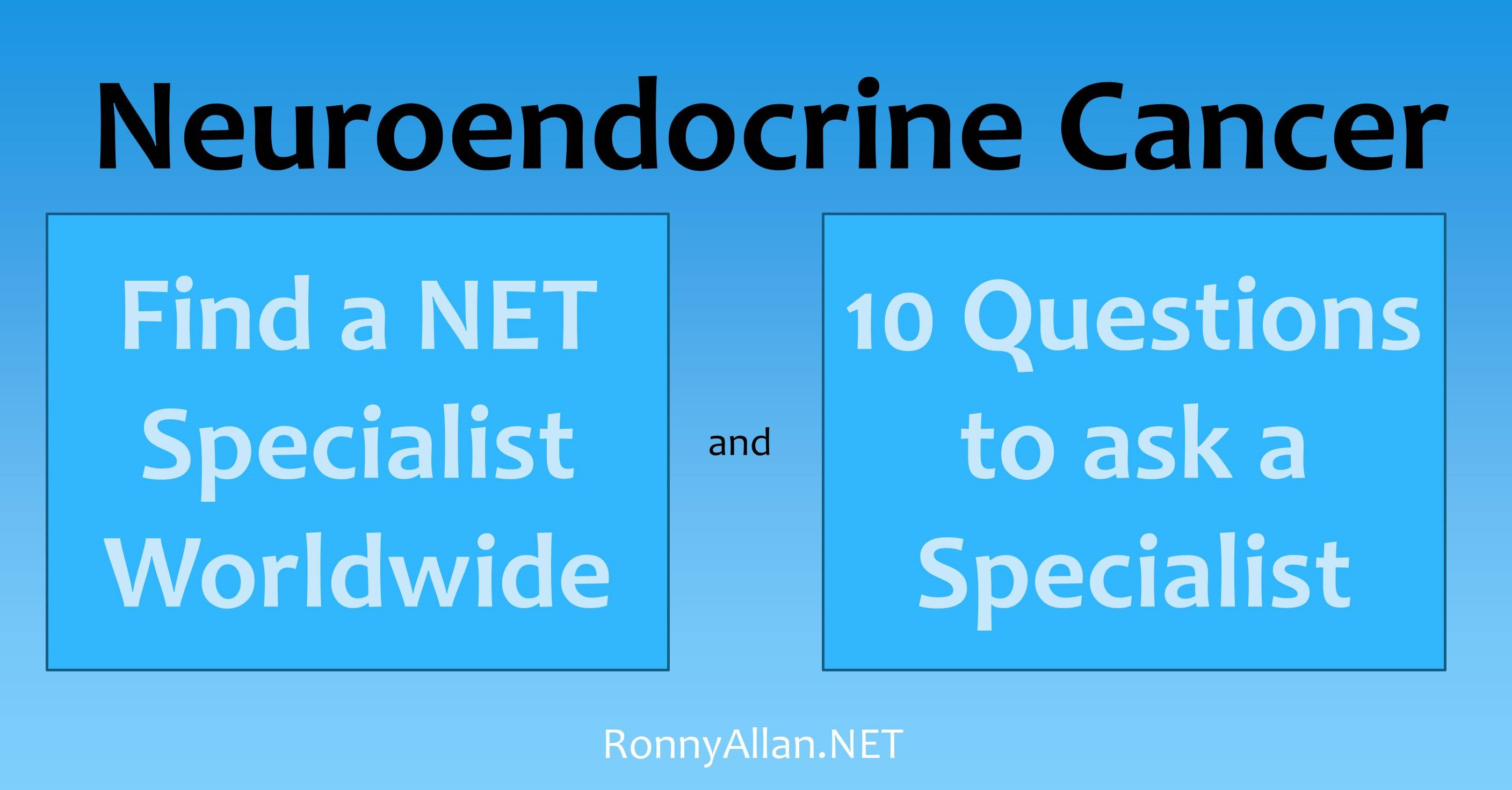 neuroendocrine cancer experts