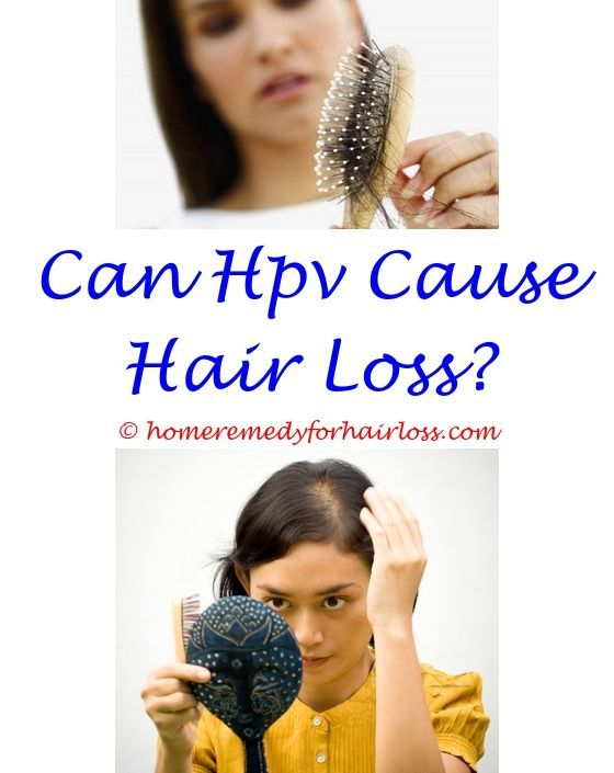 hpv causes hair loss